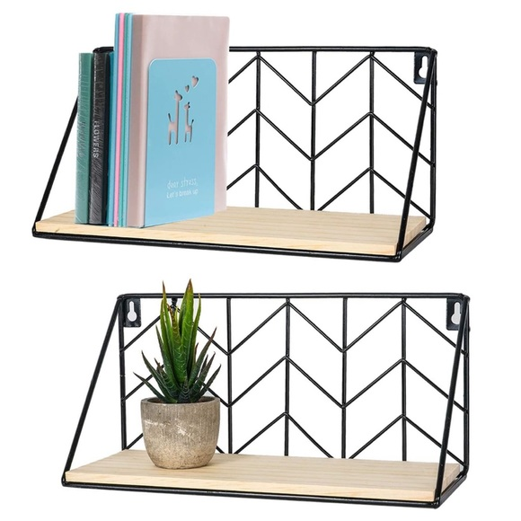 Other - 🎀 Floating Shelves Sturdy Wood 🎀 NEW